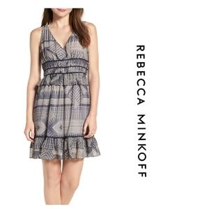 NWT Rebecca Minkoff Navy Dress (6)